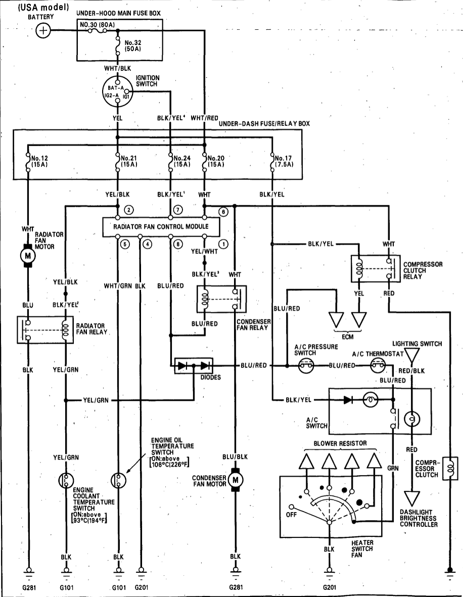 Usa Ac Schematic Wiring Easy Diagrams House For Cat 5 Diagram Symbols Problems 92 Integra Generation 2 Club Forum Rh Forums G2ic Com Unit Schematics Reversible Motor